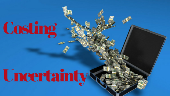 Costing Uncertainty | Price of Probability | Negotiation advice | Brampton | Mississauga | Toronto | Mediator | Mediation | Negotator